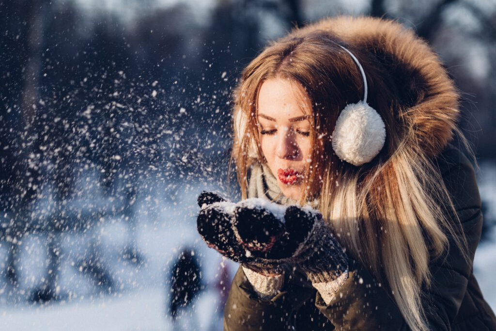 How to care for dry skin in the winter? The care and diet